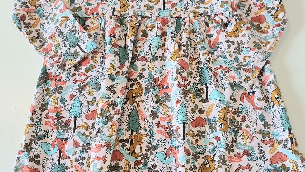 3-4Years Tu Gruffalo Dress (Preloved)