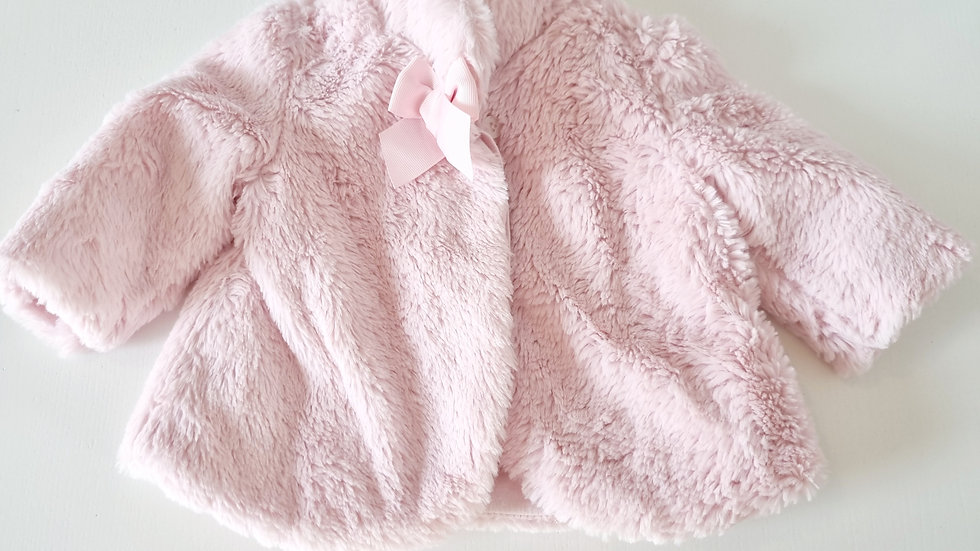 2-4 Month  Mayoral   Fluffy  Coat (Pre-loved)