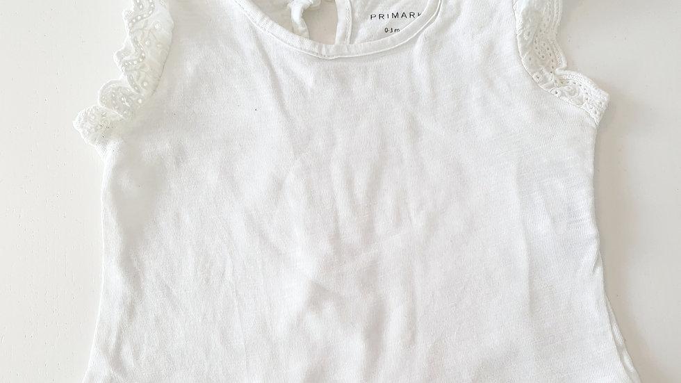 0-3 Month Primark  T-shirt  (Pre-loved)
