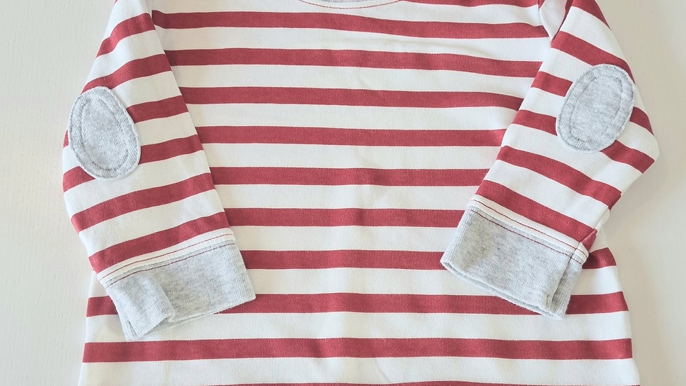 3-6m George Long Sleeved top (Preloved)