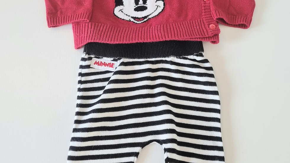 0-3m Disney at Primark Outfit  (Preloved)
