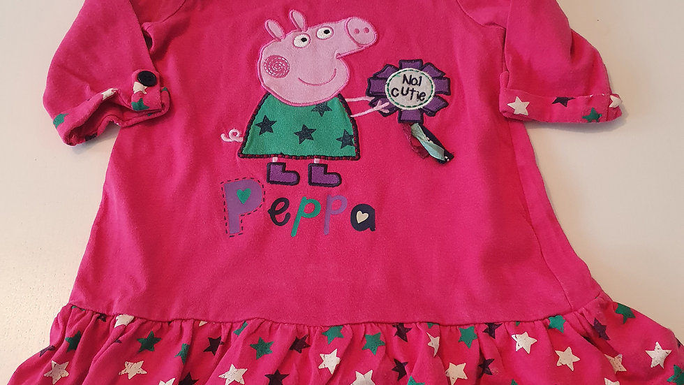 12-18 Month George Peppa  Pig Dress (Pre-loved)