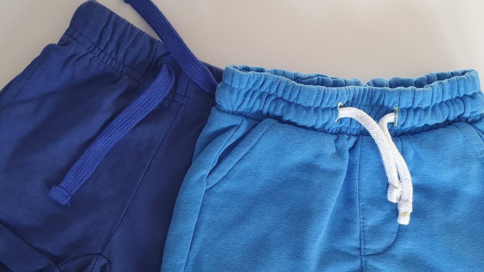 3-6 Month Matalan 2 pack Shorts (Pre-loved)
