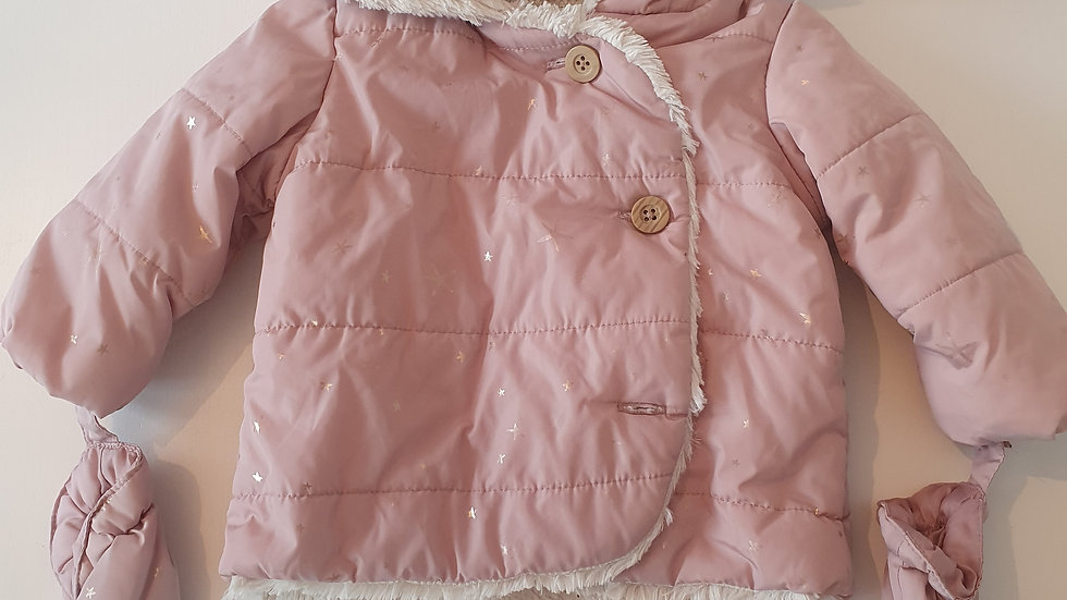 3-6m George Coat with Mitts (Preloved)