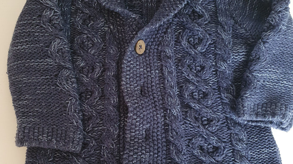 3-6 Month Next  Thick Cardigan (Pre-loved)
