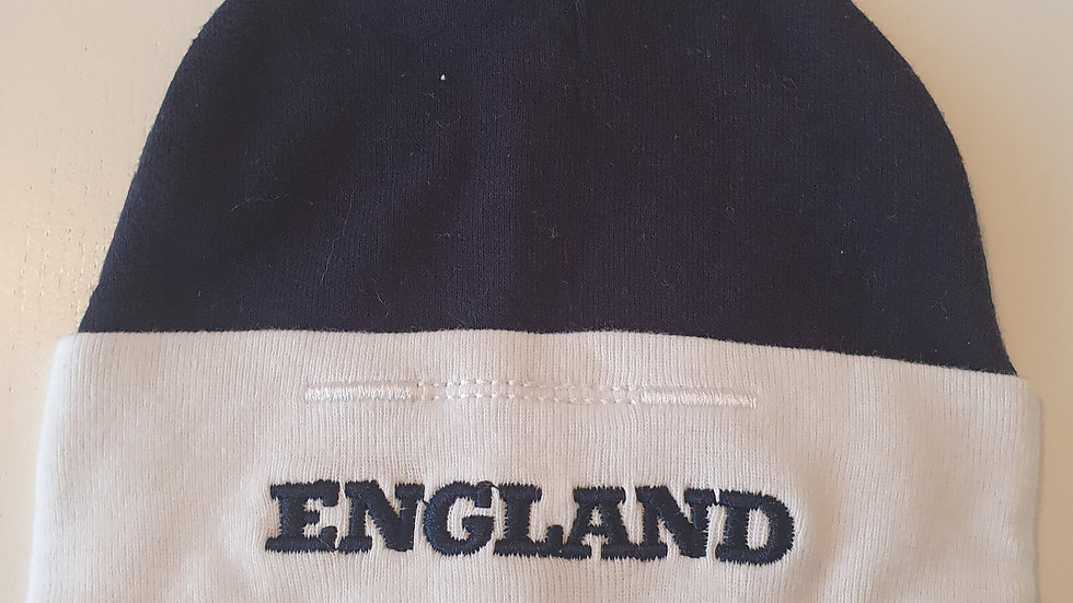 0-6 Month England Hat ( Pre-loved)