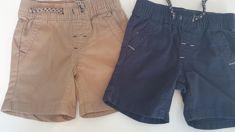 0-3 Month Primark 2 pack Shorts (Preloved)