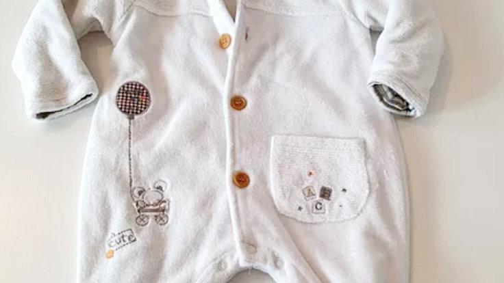 0-3  Month  Pequilino Pram suit (Pre-loved)