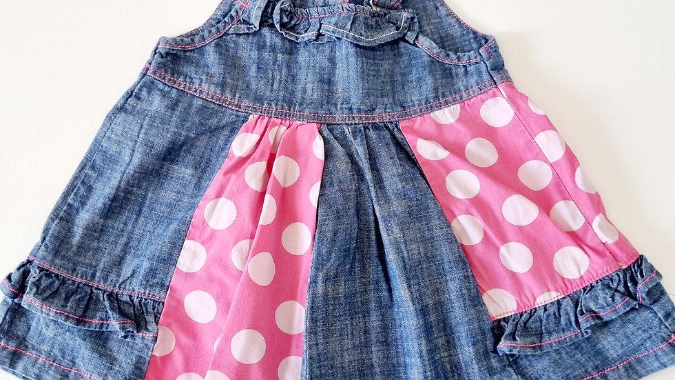 0-3  Month  Next  Denim  Dress (Pre-loved)