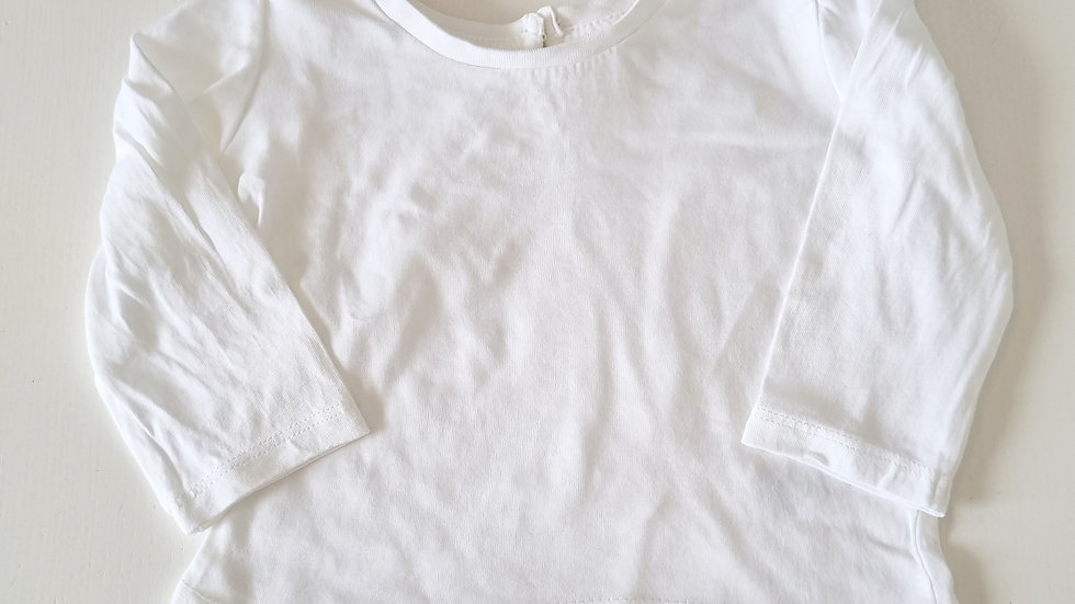 0-3 Month Matalan  Long  sleeve  Top (Pre-loved)