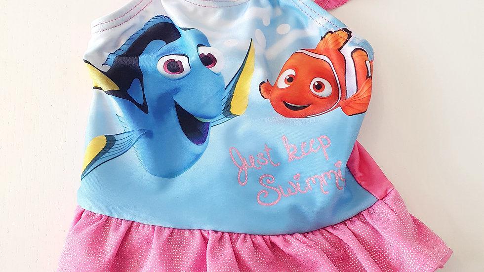 3-6 Month Disney finding nemo Swim suit (Pre-loved)