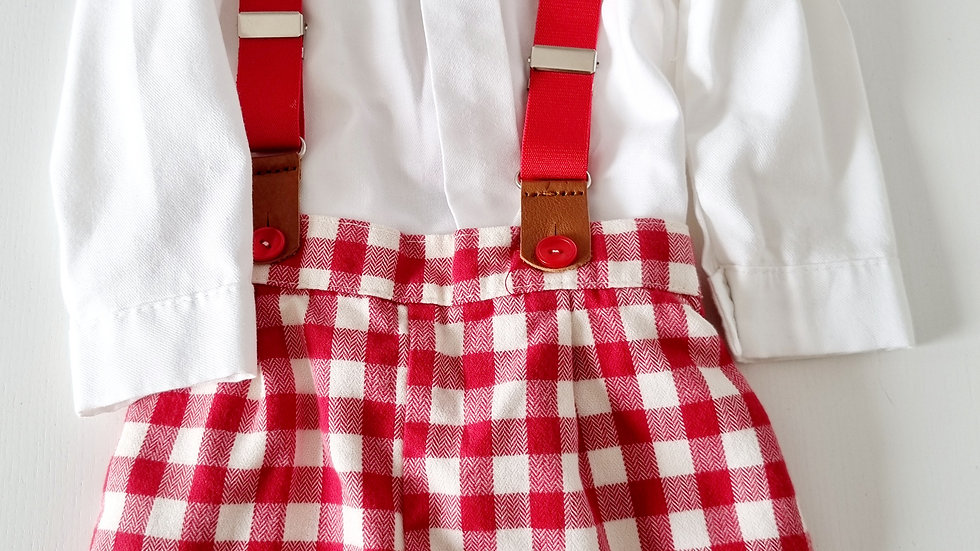 12 Month Baby Ferr Spanish Outfit (Pre-loved)