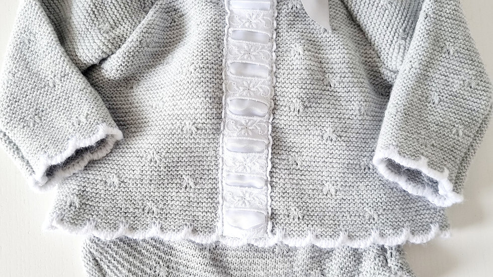3-6 Month Bee Bo Spanish Knitted Outfit (Pre-loved)