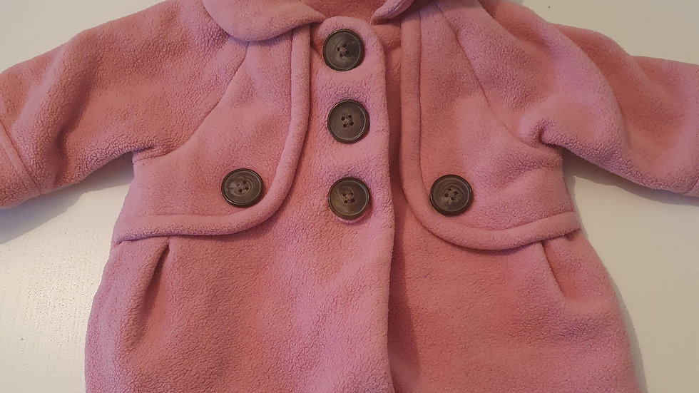 3-6  Month  Next  Thick Pink Coat (Pre-loved)