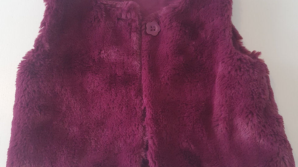 12-18 Month George Fluffy Gilet (Pre-loved)