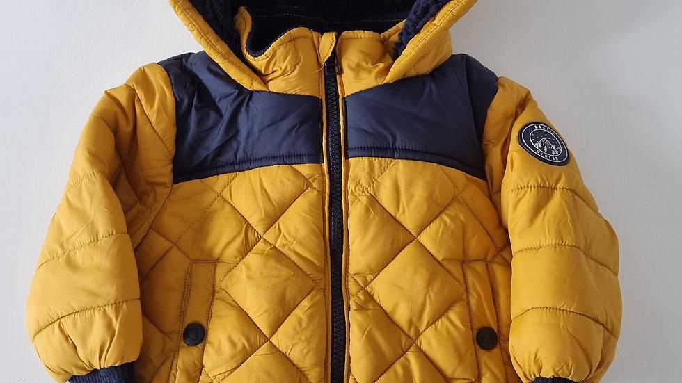 12-18m Nutmeg Coat (Preloved)