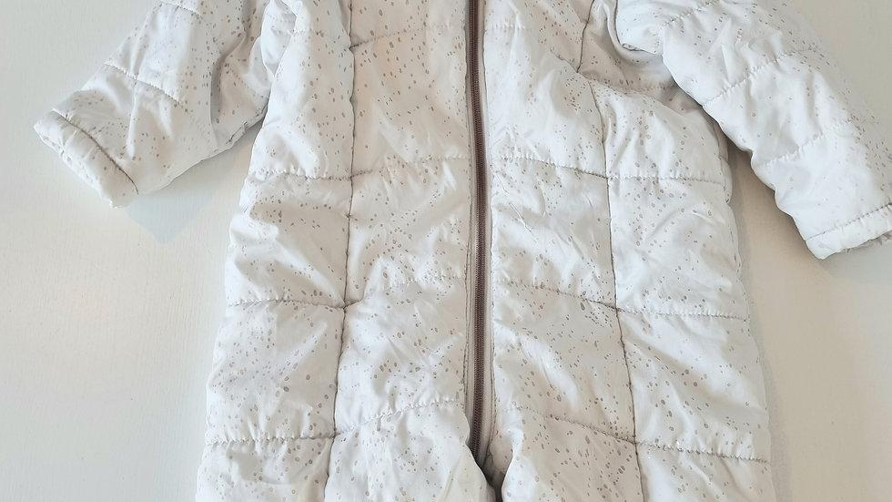 18-24m Nutmeg Footless Snowsuit (Preloved)