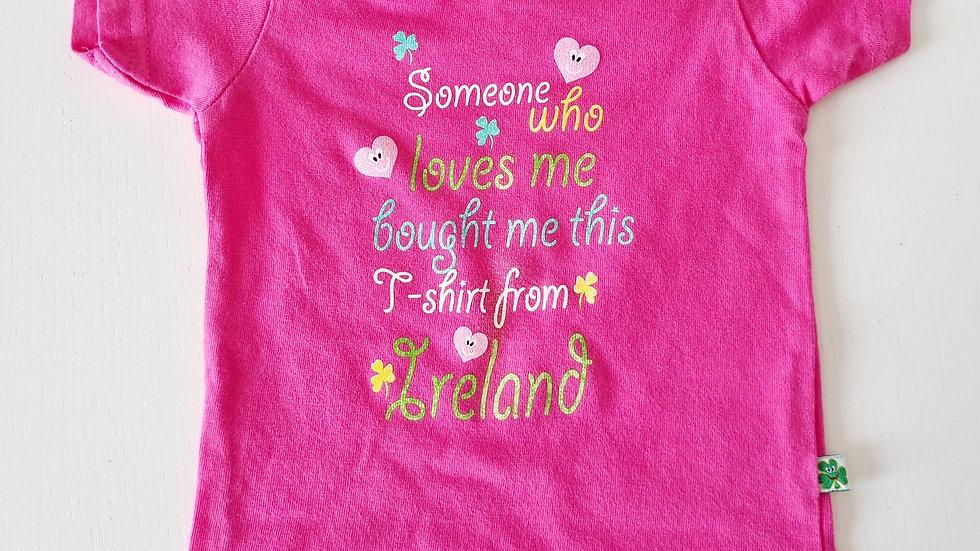 0-6 Month  Irish T-shirt (Pre-loved)