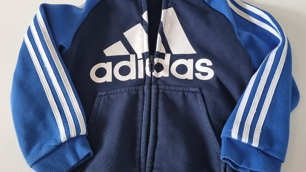 3-4 Years  Adidas  Jacket with  Hood ( Pre-loved)