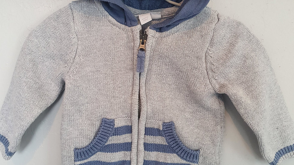 3-6 Month The Little White Company Cardigan (Pre-loved)