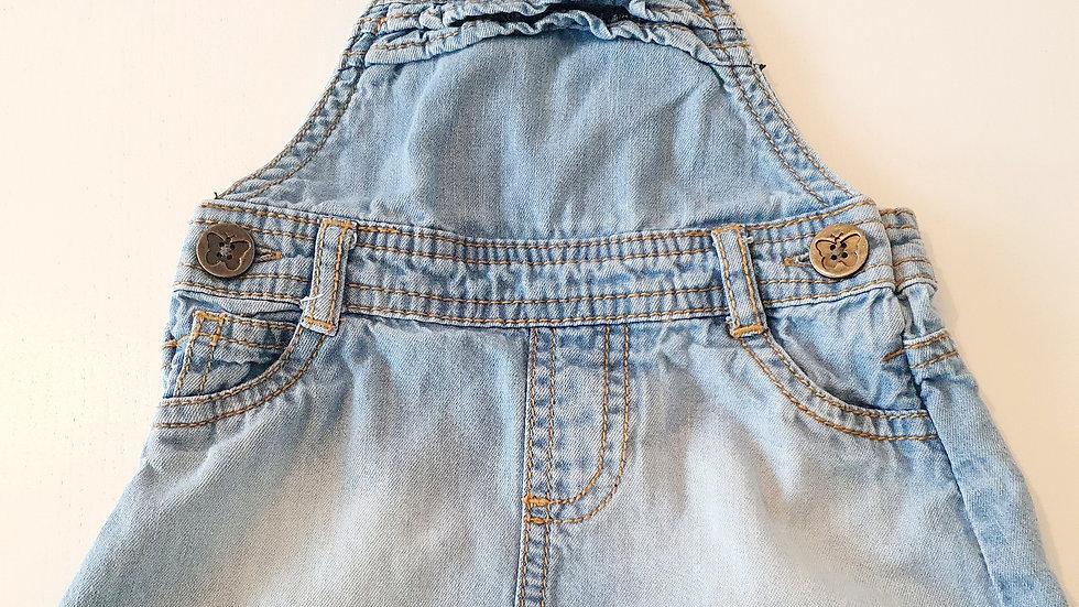 3-6  Month Next Denim  Dress (Pre-loved)