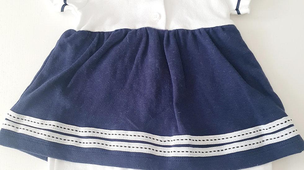0-3  Month Cutie Pie Romper/ Dress (pre-loved)