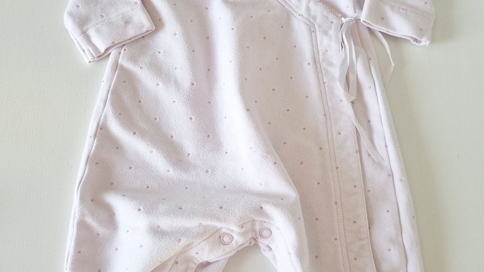 1-3 Month Emile et Rose All in One suit (Pre-loved)