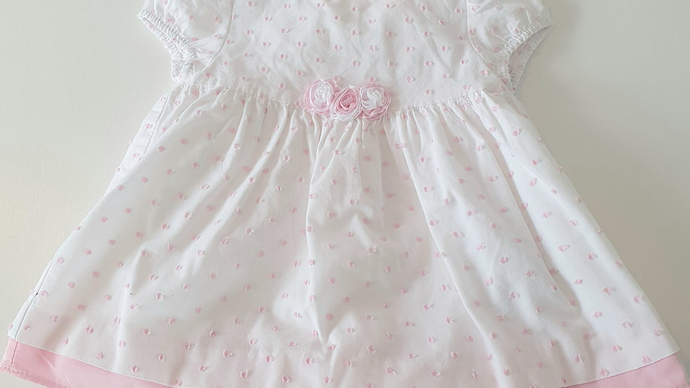 2-4 Month Mayoral Dress, Hat & Knickers  ( Pre-loved)