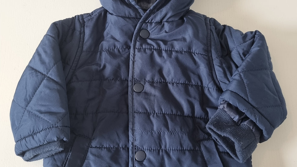 3-6 Month George Thin Coat with hood (Pre-loved)