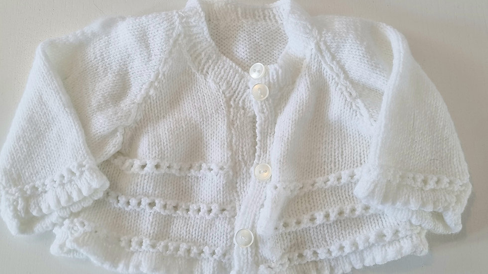 0-3m Knitted Cardigan (Preloved)