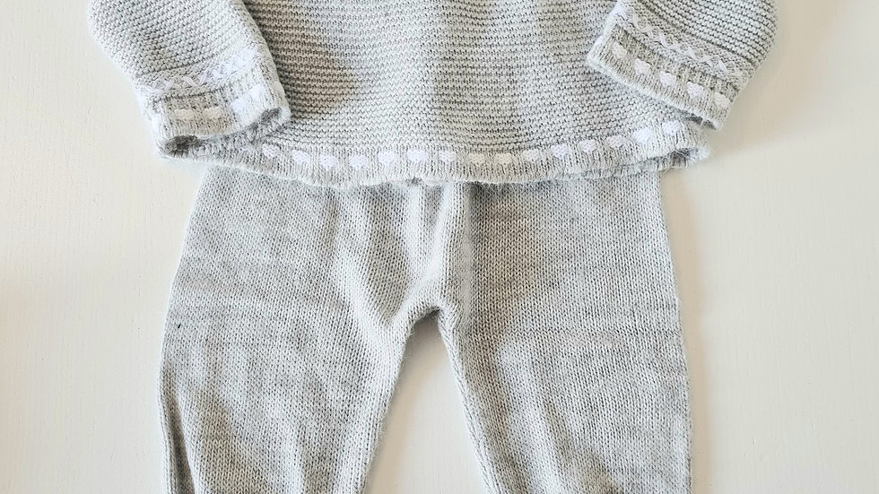 0-3m Fruit De Ma Passion Knitted Outfit (Preloved)
