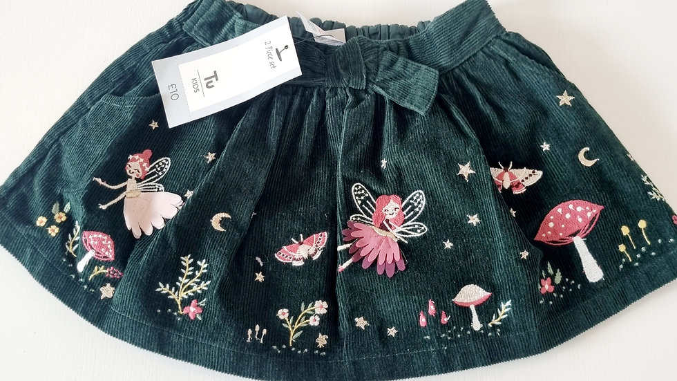 12-18 Month TU Cord Skirt (New with £10 tags)