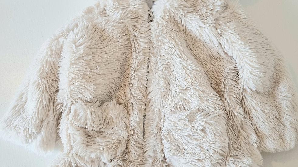 3-6m F&F Fluffy Coat (Preloved)