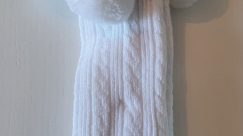 12-18  Month Soft touch Pom pom Knee socks (New)