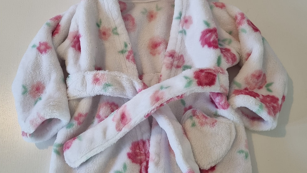 3-6m George Dressing gown (Preloved)