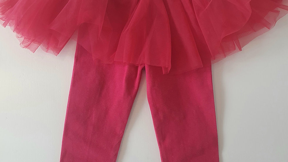 12-18  Month  Next  Leggings with Tutu (Pre-loved)