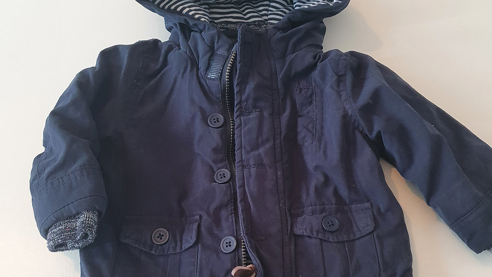 3-6 Month  F&F  Coat with Hood (Pre-loved)