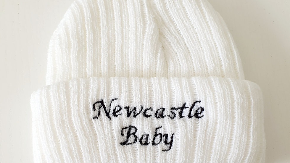 0-3 Month  Newcastle Hat (Pre-loved)