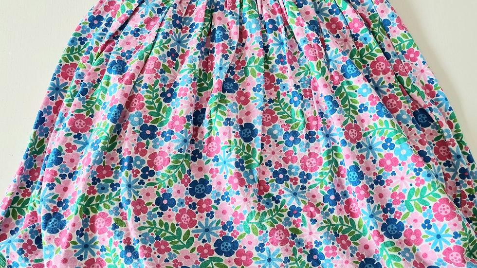 12-18m Frugi Organic Cotton Dress with Romper (Preloved)