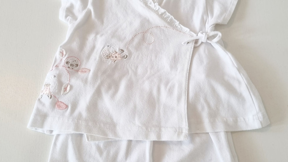 3-6  Month  Coco Shorts, Top & Hat (Pre-loved)