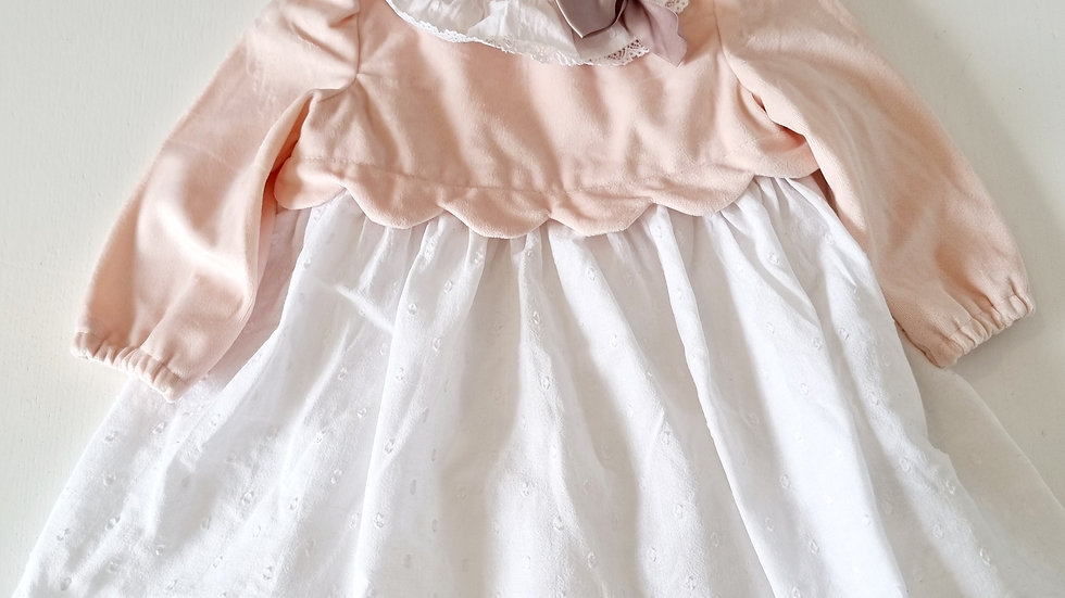 3-6 Month shabby Chic Spanish Style  Dress ( Pre-loved)