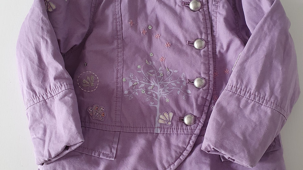 2-3 Years Next Lilac Coat (Pre-loved)