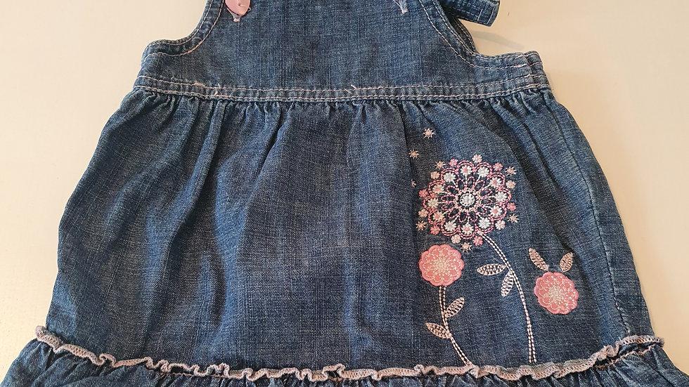 0-3 Month  M&Co Denim  Dress (Pre-loved)