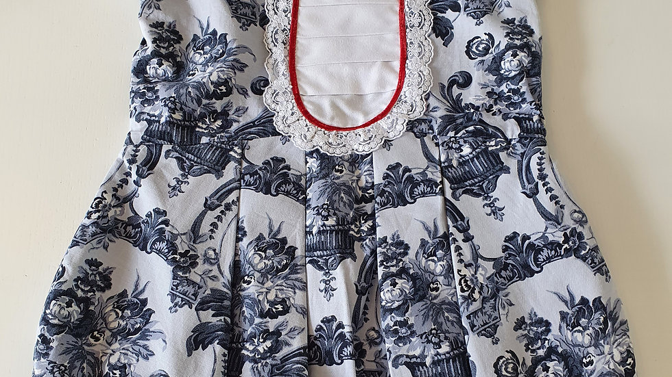 Age 6 Years (6 y true fit) Dinno's  Spanish  Dress (Pre-loved)