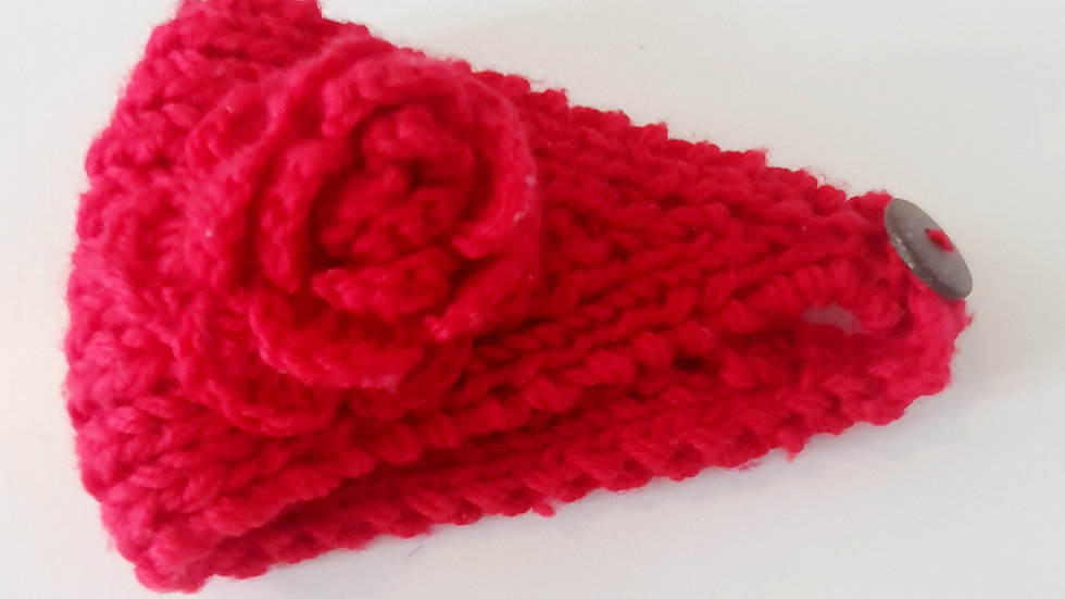 0-6 Month  Knitted  Headband (Pre-loved)