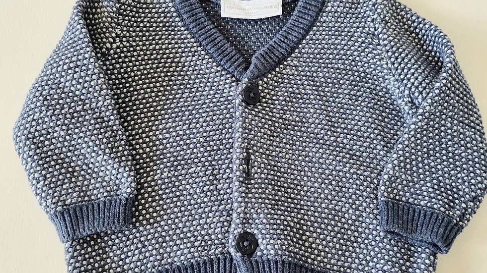 0-3m The Little White Company Cardigan (Preloved)