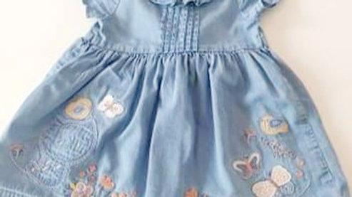 3-6  Month  George  Denim Dress (Pre-loved)
