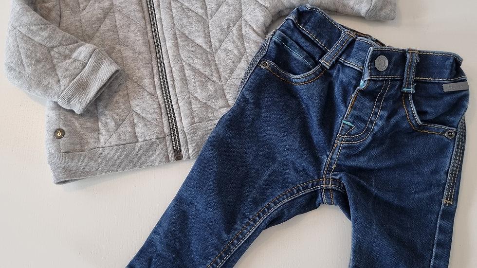 0-3 Month Ted Baker Soft Jean's & Jacket (Pre-loved)