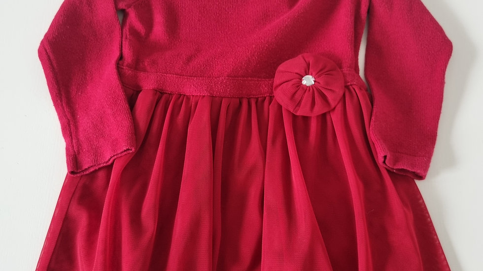 2 Years  Piper & Posie Red Dress (Pre-loved)