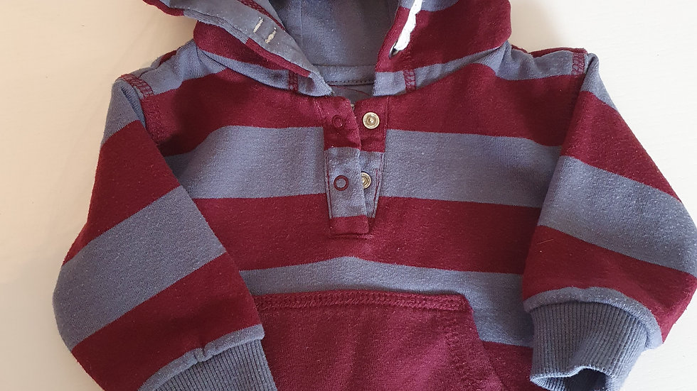 0-3 Month F&F Jumper with hood (Pre-loved)